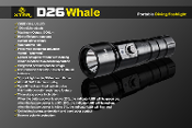 D26 Diving Light